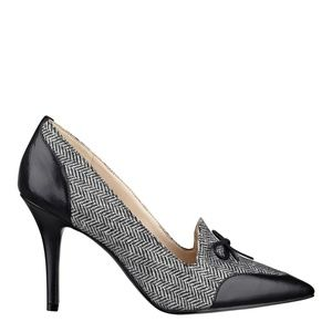 Nine West Jealouseye Textile pointy heels